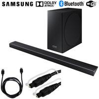Samsung 330W 3.1.2ch Soundbar System w/ Wireless Subwoofer + Accessories Bundle