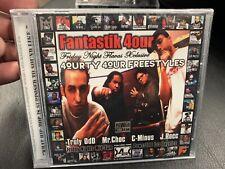Freestyles MIXTAPE WuTang Mobb Deep Kanye Jadakiss Madlib CD Fantastik 4our