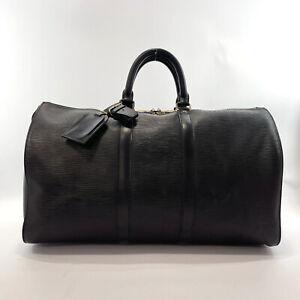 LOUIS VUITTON Boston bag M59062 Keepall 45 vintage Epi Leather mens