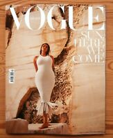 VOGUE GREECE #13 JUNE 2020 GREAT GREEK COVER A' CANDICE HUFFINE BY NICO BUSTOS