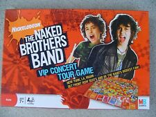 NICKELODEON THE NAKED BROTHERS BAND VIP CONCERT TOUR GAME - 2008 MILTON BRADLEY