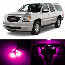 8 x Pink/Purple LED Interior Light Package For 2007 - 2013 GMC Yukon