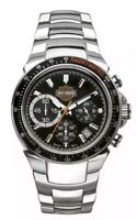Harley-Davidson Men's Bulova Chronograph Bar & Shield Wrist Watch 78B113