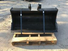 """New 36"""" Takeuchi TB035 Excavator Ditch Cleaning Bucket"""