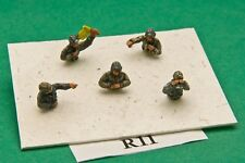 SGTS MESS R11 1/72 Diecast WWII Russian Tank Commanders (10 1/2 Figures)