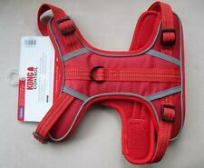 MEDIUM Red KONG CONTROL Chest Harness Reflective Stitching - M Dog Up To 23kg