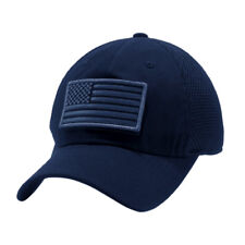 48bf89398dd USA American Flag hat Detachable Baseball Mesh Tactical Military Army cap US
