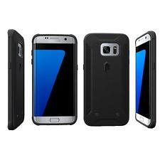 Poetic QuarterBack Bumper Protection Case for Galaxy S7 Edge Black case
