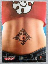 Um Jammer Lammy PS1 Playstation   1999 Vintage Print Ad Poster Art Official Rare