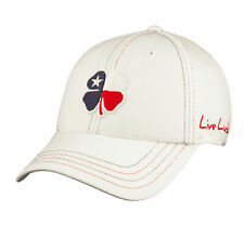New Black Clover Live Lucky Premium Texas 1 Red/White/Blue Fitted S/M Hat/Cap