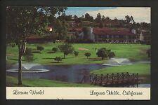 Sports Golf postcard Laguna Hills, California CA Leisure World course