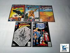 SUPERMAN DC FUNERAL FOR A FRIEND COMIC BOOKS  LOT OF 5