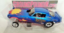 NEW IN STOCK! Legends 1/18 Revell's Jungle Jim FLAMED BLUE Camaro NHRA Funny Car