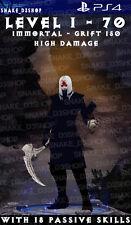 Diablo 3 Ps4 - Fully Modded Primal Set Necromancer Rathma - Level 1 - 70