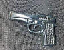 Gun Shape Black Belt Buckle