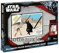 TABLETTE LUMINEUSE A DESSIN STAR WARS FAUCON MILLENIUM  CLEMENTONI