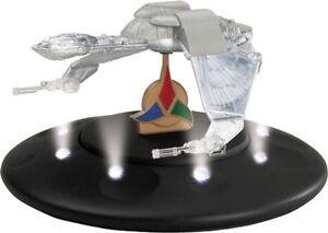 Corgi Star Trek Die-Cast Klingon Bird of Prey with Lighted Display Stand CC96608