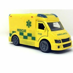 Teamsterz City Emergency Response Ambulance Vehicle Toy With Lights & Sounds