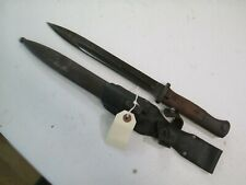 WWII GERMAN K98 MAUSER COMBAT BAYONET W MATCHING NUMBERS ON BLADE SCABBARD #P33