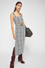 Free People Off the Duty Skirt Set-10-$168 MSRP