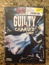 ECW/WWE - Guilty as Charged 2001 (DVD, 2002)NEW Authentic US Release RARE OOP