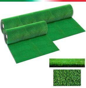 Gazon synthétique herbe jardin rouleaux pré vert hauteur 7 mm 42 mesures