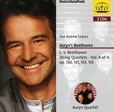 Auryn Quartett, Ludwig van Beethoven - String Quartets 4 [New CD]