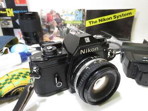 Nikon EM Film Camera And More... / Only $0.01!!! 👀🔥