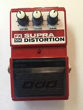DOD Digitech FX55C Supra Distortion Overdrive Rare Guitar Effect Pedal