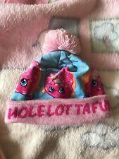 Girls Shopkins Winter Bobble Hat