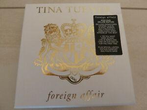 4 CD + DVD TINA TURNER: Foreign Affair (2021 Box Set)