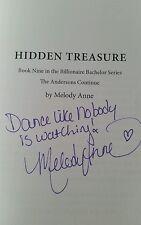 SIGNED COPY Hidden Treasure Melody Anne Billionaire Bachelors 9 Indie Romance