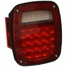 Grote G5212 Hi Count LED Box Lamp Red Color Left Hand with Side Maker