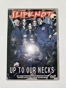 SLIPKNOT - UP TO OUR NECKS dvd RARE documentary REGION 0 ALL music HEAVY METAL