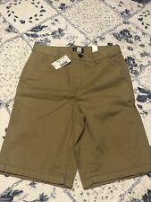 Boys Childrens Place Shorts NWT Size 10 Khaki Adjustable Waist