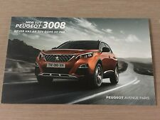 NEW Carte Postale Postcard CP PEUGEOT 3008 NEW SUV