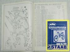 KTM MC5/77 125 175 250 400 ccm Ersatzteilliste Ersatzteilkatalog Parts list 1977