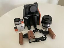 Sony a6500 Mirrorless Camera Bundle With 16mm Lens And 18-200mm Lens Smallrig