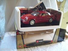 Maserati 3200 GT 1998 amaranto  1/18  BBurago Gold collection