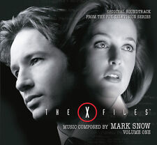 X-Files Vol 1 - 4 x CD Complete Series Boxset - Limited 2000 - Mark Snow