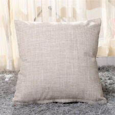 2PC Fashion Solid Color Cushion Covers Square Throw Pillow Case Sets 18x18