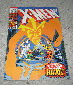 X-men 58 Neal Adams 1st Havok Cyclops Marvel Girl Iceman Original team   LOT MCU