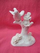 Crown Staffordshire Blanc de Chine oiseau figurine J T JONES Design, Chardonneret