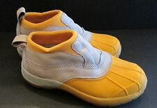 Women's Sz 8 M YELLOW LL Bean Storm Chaser  Stormchaser Low Boots HTF
