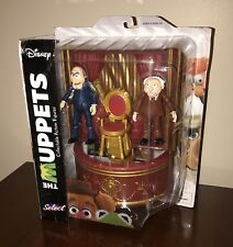 Statler & Waldorf 2 Pack Action Figure The Muppets Diamond Select Toys Balcony