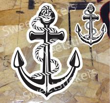Anchor Sticker Decal Car Boat Window Wall Bumper Macbook Sailing Nautical 2