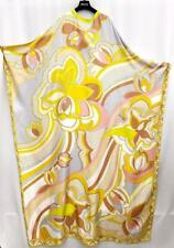 EMILIO PUCCI Silk Print Kaftan Maxi Dress Gown ONE SIZE 8-18 New Auth