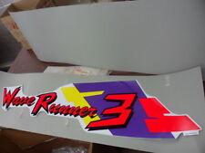NOS Yamaha Logo Decal Label Graphic 1 1993 WRA650 Wave Runner 3 GA9-6417B-10