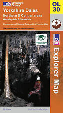 Good, Explorer Map OL30 Yorkshire Dales: Northern and Central Areas Wensleydale