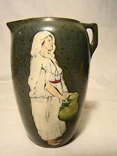 Teplitz Stellmacher Austria Era Art Pottery Amphora Shape Vase c. 1895-1910